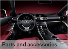 Order Parts from Lexus Centurion