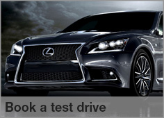 Book a Test Drive at Lexus Centurion