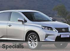 View Latest Lexus Centurion Specials